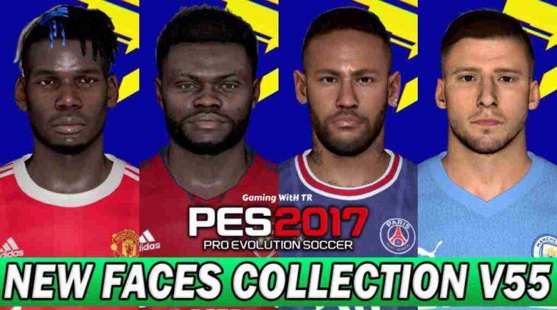 PES 2017 NEW FACES COLLECTION V55