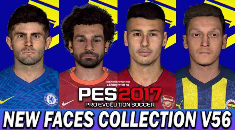 PES 2017 NEW FACES COLLECTION V56