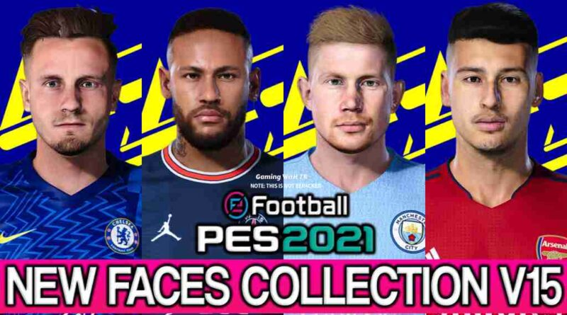 PES 2021 NEW FACES COLLECTION V15
