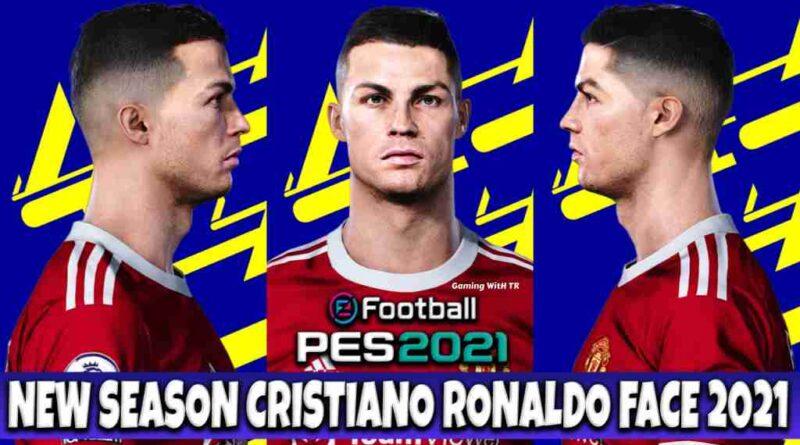 PES 2021 NEW SEASON CRISTIANO RONALDO FACE 2021